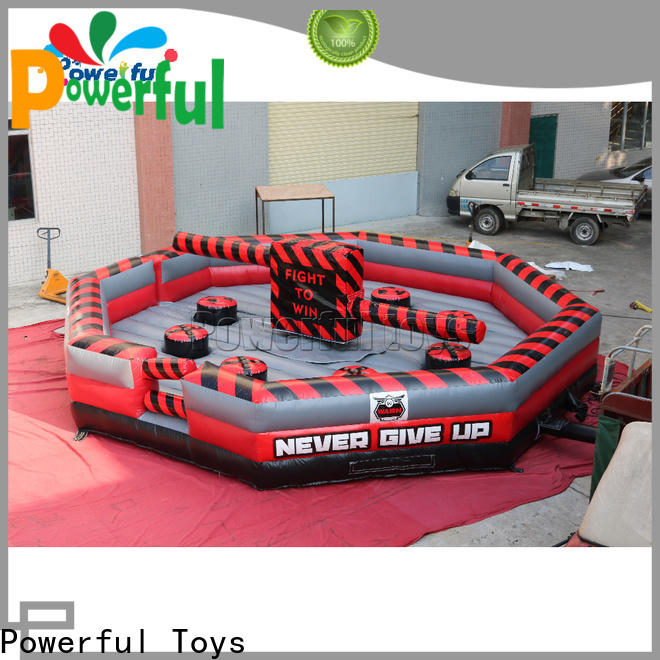 high quality wipeout inflatable light weight for amusement park