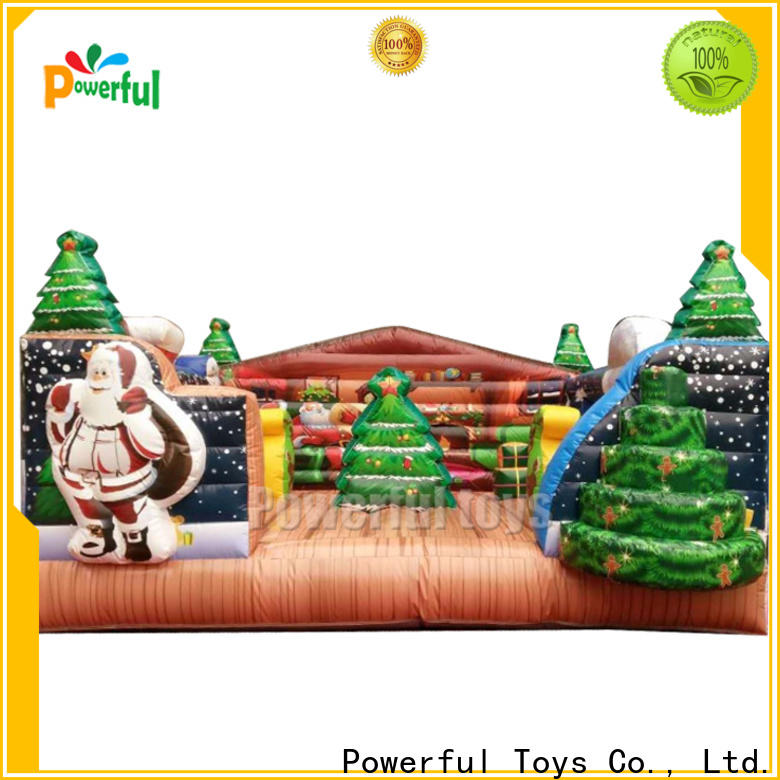 Powerful Toys inflatable bouncy castle top brand for wholesale