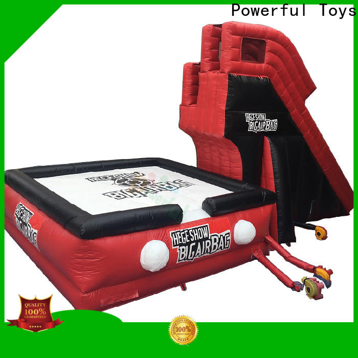 Powerful Toys air stunt platform for adventure
