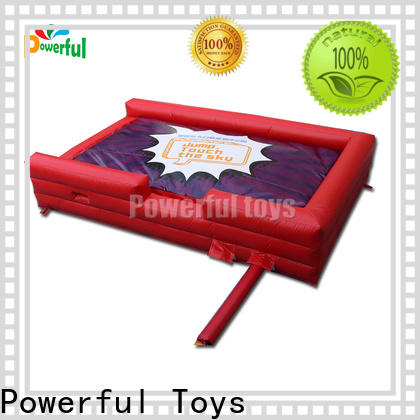 Powerful Toys trampoline airbag cheapest factory price