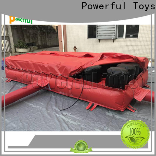 ODM trampoline airbag bulk for amusement park