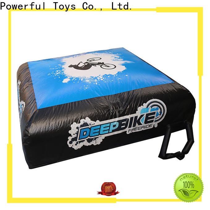 Powerful Toys bmx airbag for jumping