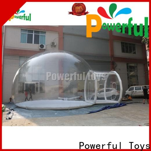 Powerful Toys kids inflatable tent comfortable top brand