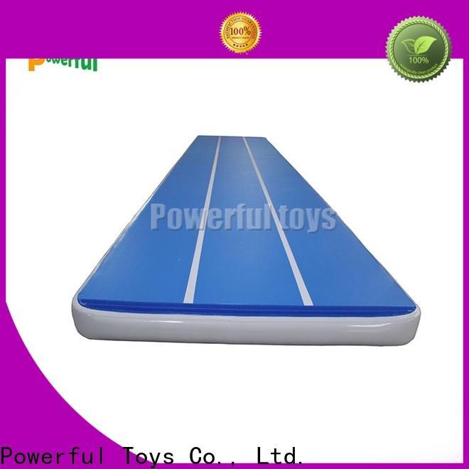 mini gym air track tumble floor