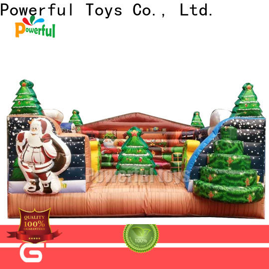 Powerful Toys popular inflatable bouncy castle top selling for wholesale
