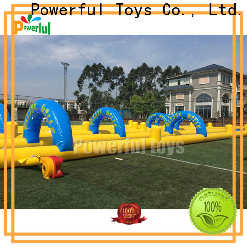 Powerful Toys popular inflatable water slides for adults top brand for fun