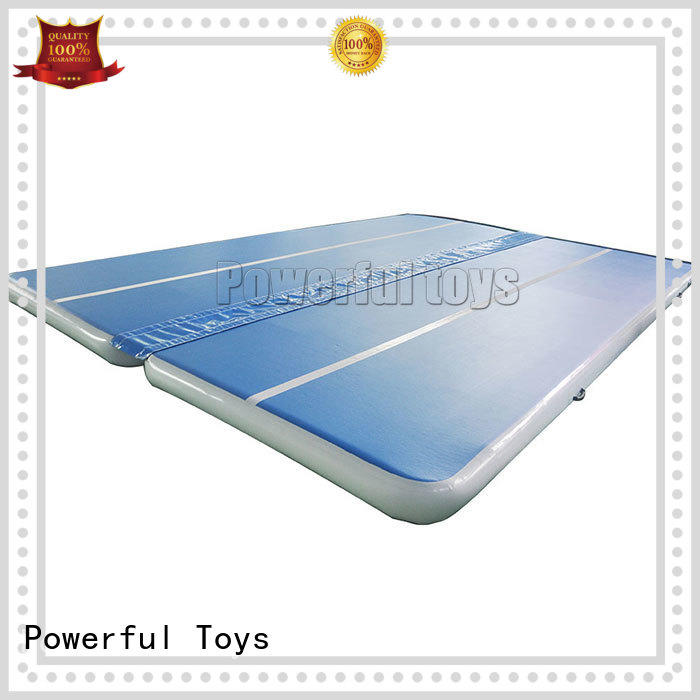 Hot mattress air track uk inflatable gymnastic Powerful Toys Brand