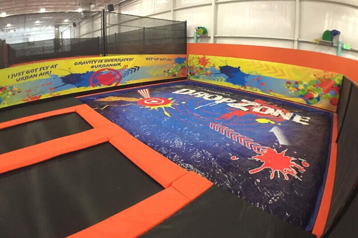 Customized Big Foam pit airbag for trampoline park-2