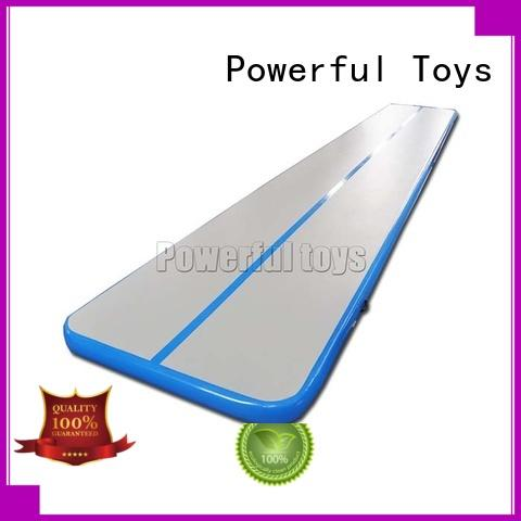 Powerful Toys longest air track pro tumble park