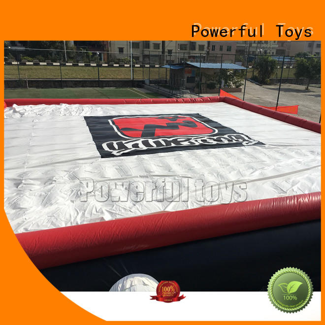 Powerful Toys freestyle airbags stunt for skateboard