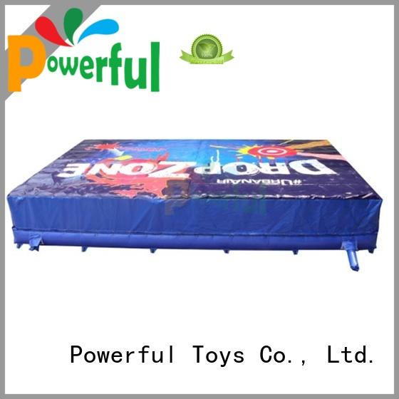 Customized Big Foam pit airbag for trampoline park