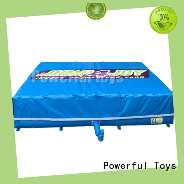 pit airbag design soft foam for sale Powerful Toys