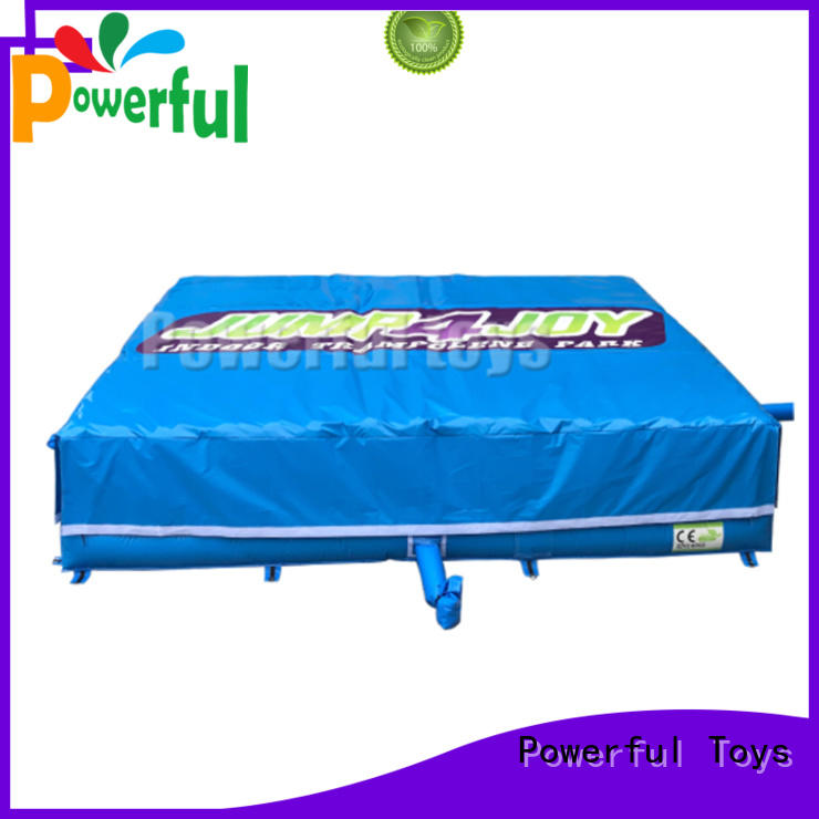 Powerful Toys customized airbag design cheapest factory price for amusement park