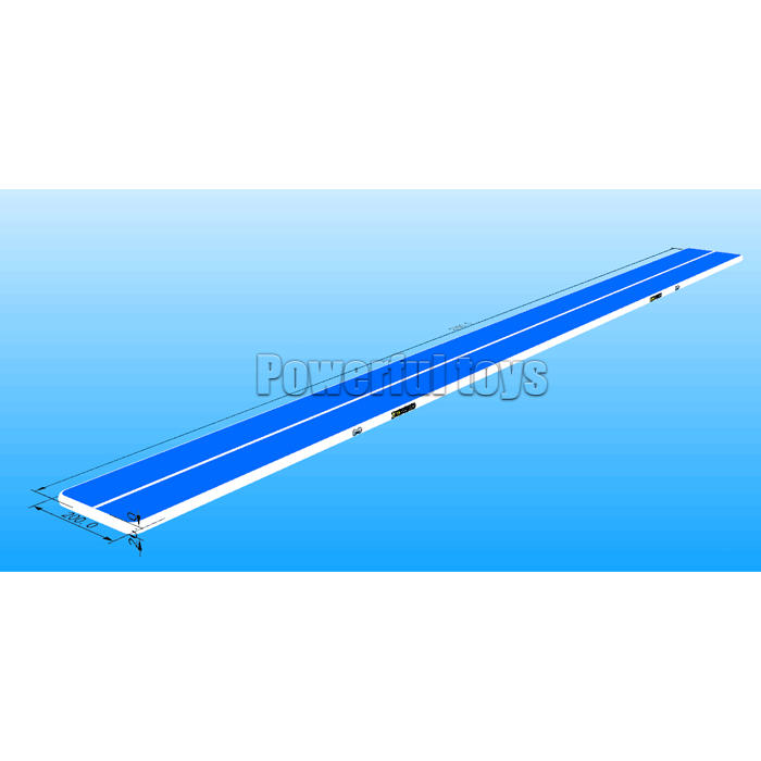 Powerful Toys gymnastic inflatable air track floor-1