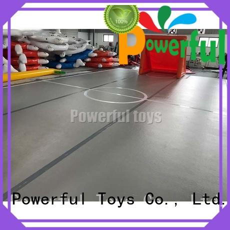 Powerful Toys inflatable inflatable gymnastics mat hall products for football
