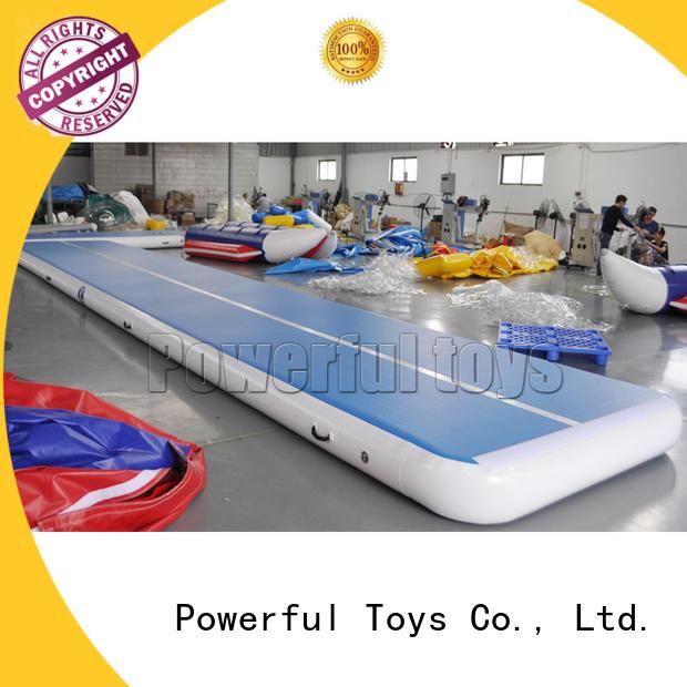 gymnastics air track pro tumble big Powerful Toys