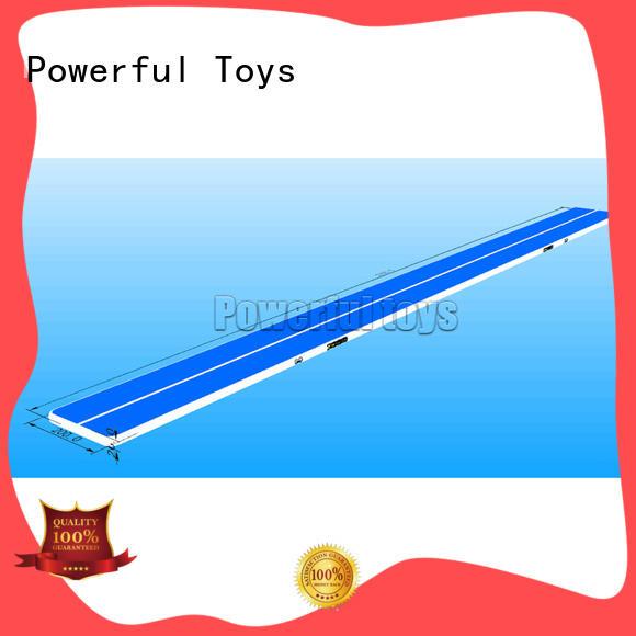 Powerful Toys gymnastic air track floor gymnastics floor