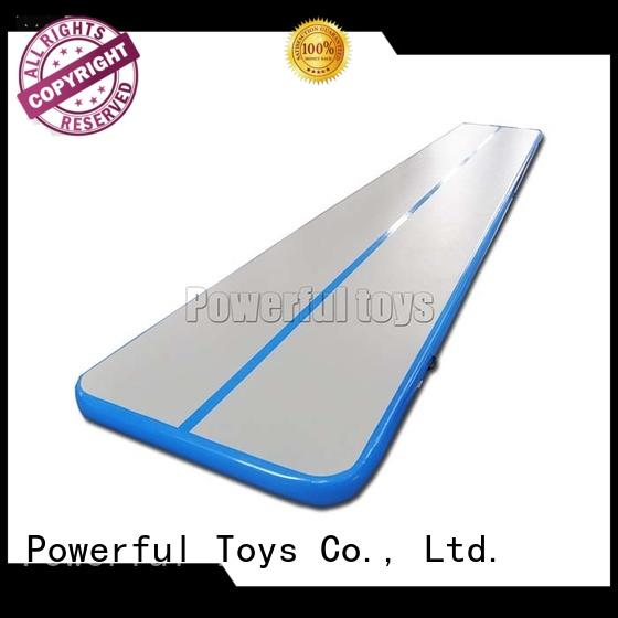 Powerful Toys mini air track factory us gymnastics for cheer leading