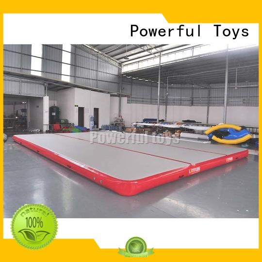 inflatable air track floor cheap price for football