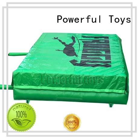 pad trampoline air Powerful Toys Brand how do airbags work supplier