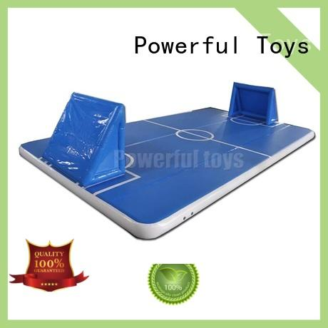 Powerful Toys air track tumbling mat gym for game
