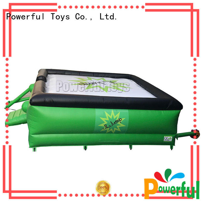 Powerful Toys Brand adventure jump zone trampoline free factory