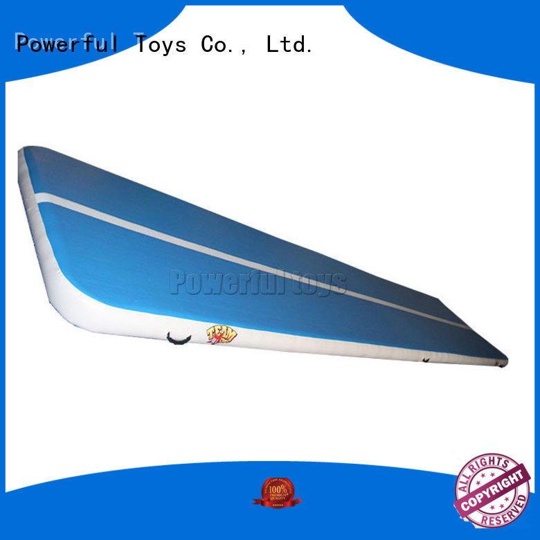 Powerful Toys gymnastic gym air track mat for cheer leading