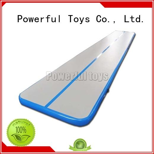 Powerful Toys mini inflatable gymnastics mat for dancing