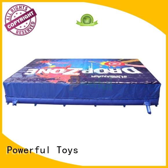 Powerful Toys inflatable bag jump jump trampoline