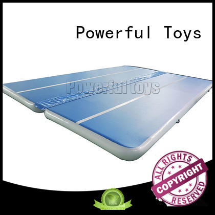 Powerful Toys air track tumbling mat hall products for club