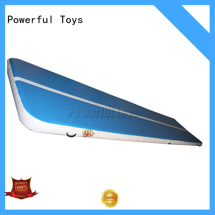 price air track gymnastics mat cheap price for football Powerful Toys