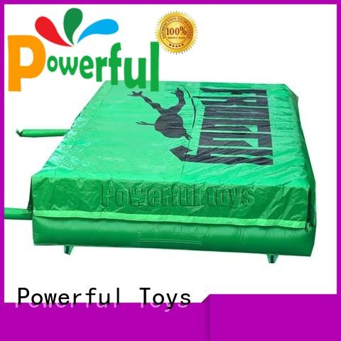 Powerful Toys ODM air trampoline bulk for wholesale