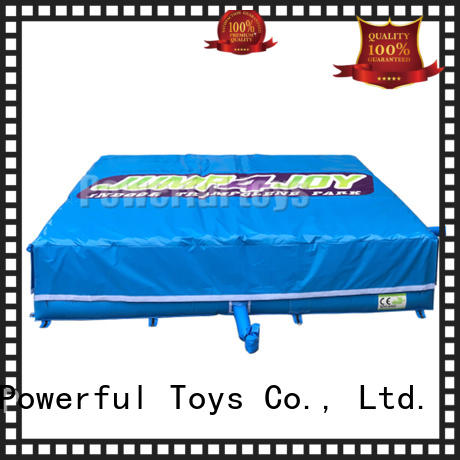 Powerful Toys inflatable jump trampoline park cheapest factory price