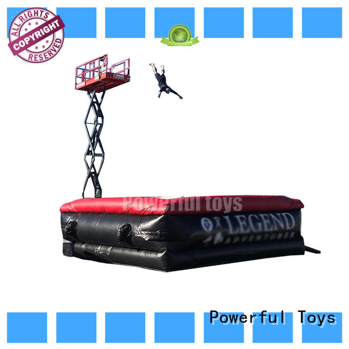 snowboard stunt airbag jump for game Powerful Toys