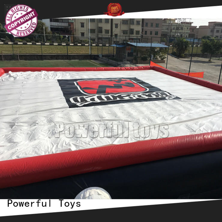 Powerful Toys inflatable the jump zone stunt jumping