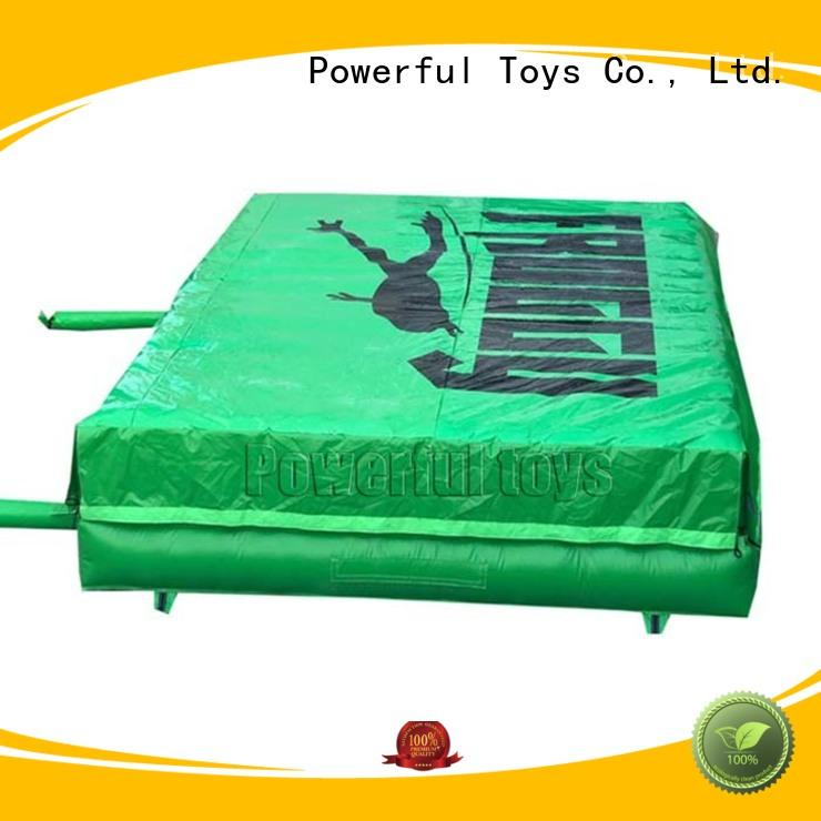 Powerful Toys foam pit airbag cheapest factory price for amusement park