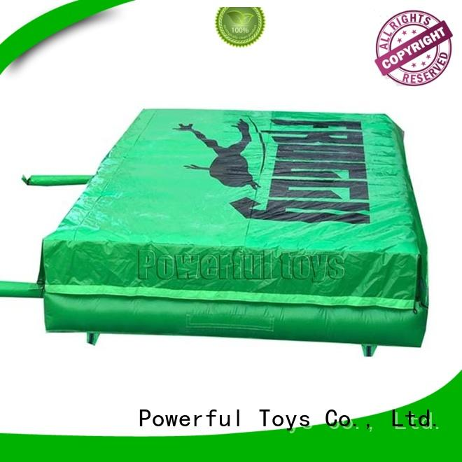 pad trampoline air bag at discount for wholesale Powerful Toys