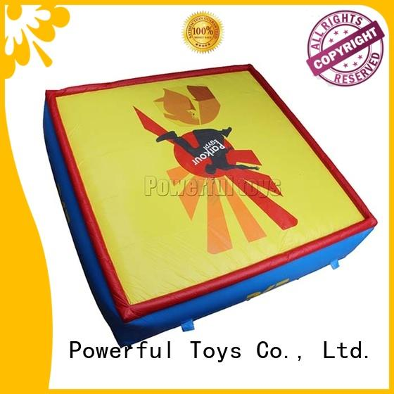 giant safety air bag platform for sports Powerful Toys
