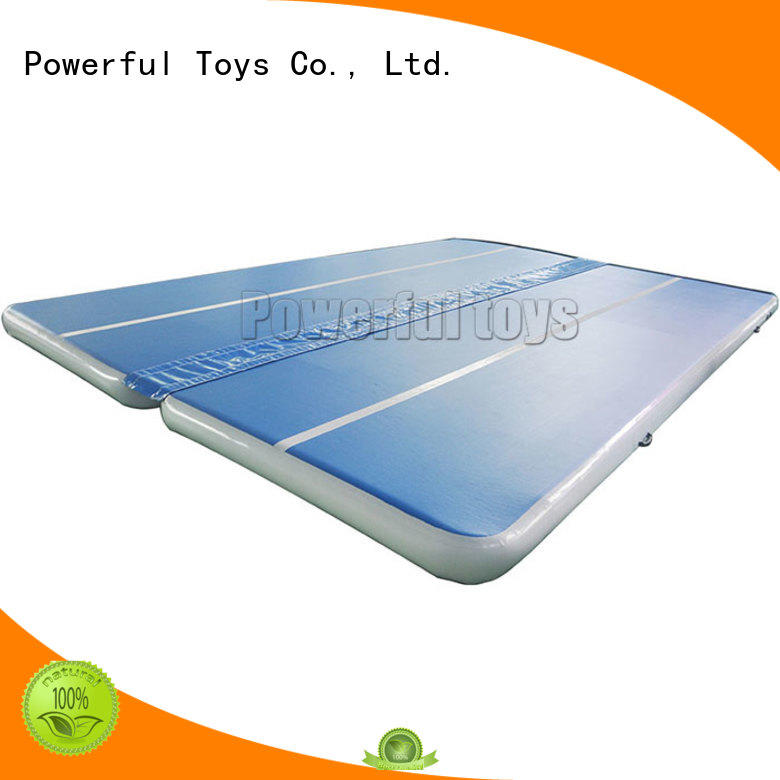 Powerful Toys mattress air track for pool top selling for dancing