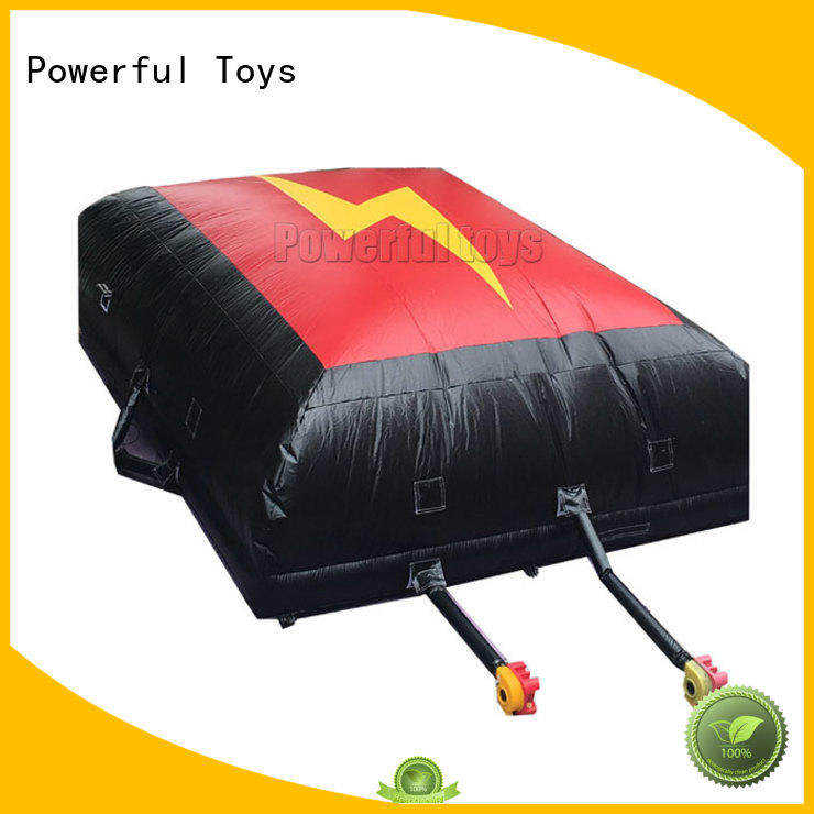 best-quality air bag snowboard landing for game
