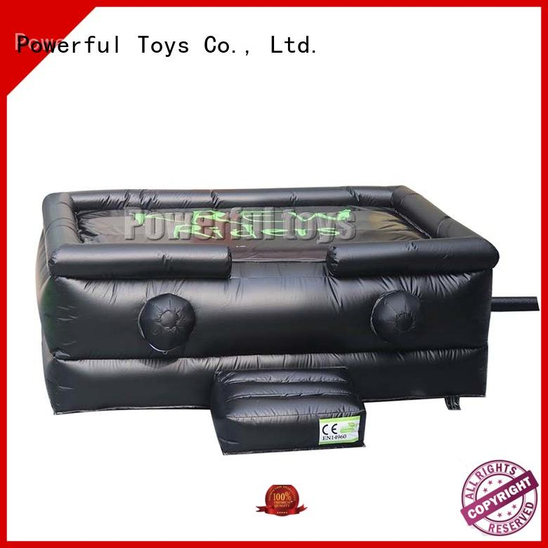Quality Powerful Toys Brand jumping adventure jump zone trampoline
