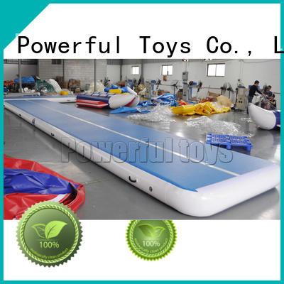 Powerful Toys mini slip n slide air track cheap price for club