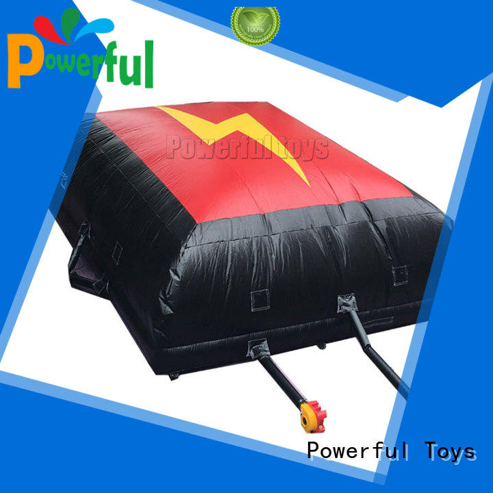 landing airbag snowboard for skiing Powerful Toys