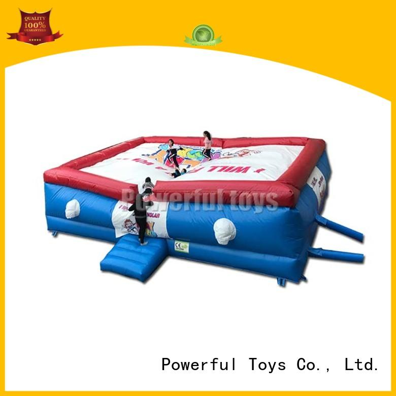 Powerful Toys skateboard jump airbag freed-rop for park