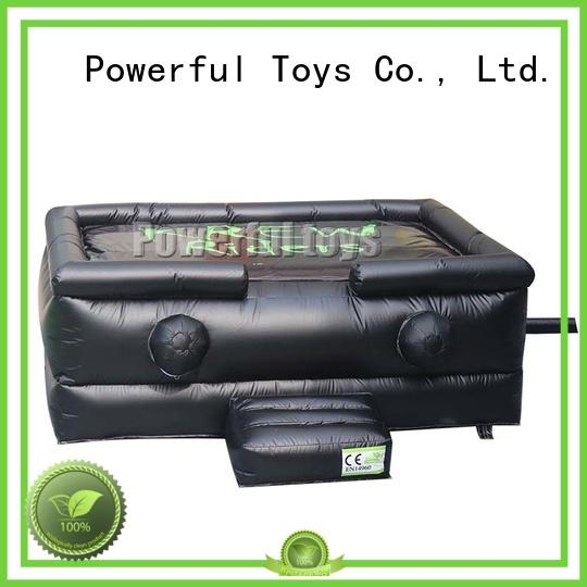 Powerful Toys inflatable freestyle air bag free for game