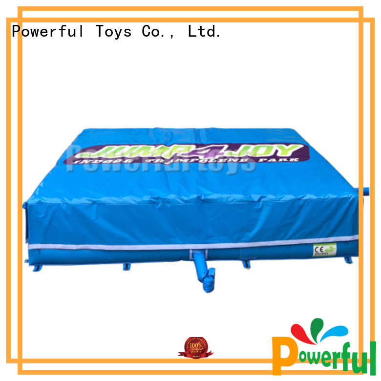 cushion jumping how do airbags work landing Powerful Toys Brand