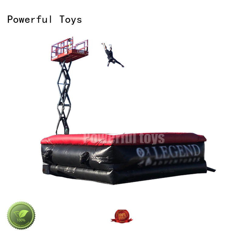 stunt airbag fall for game Powerful Toys
