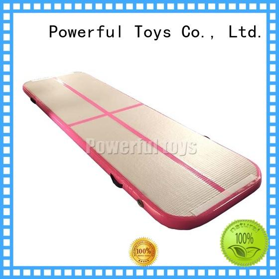 Powerful Toys mini gym air track hall for cheer leading