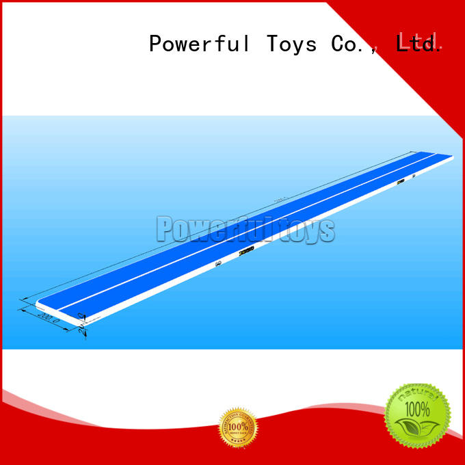 gymnastics mat dancing Powerful Toys Brand air track gymnastics price factory