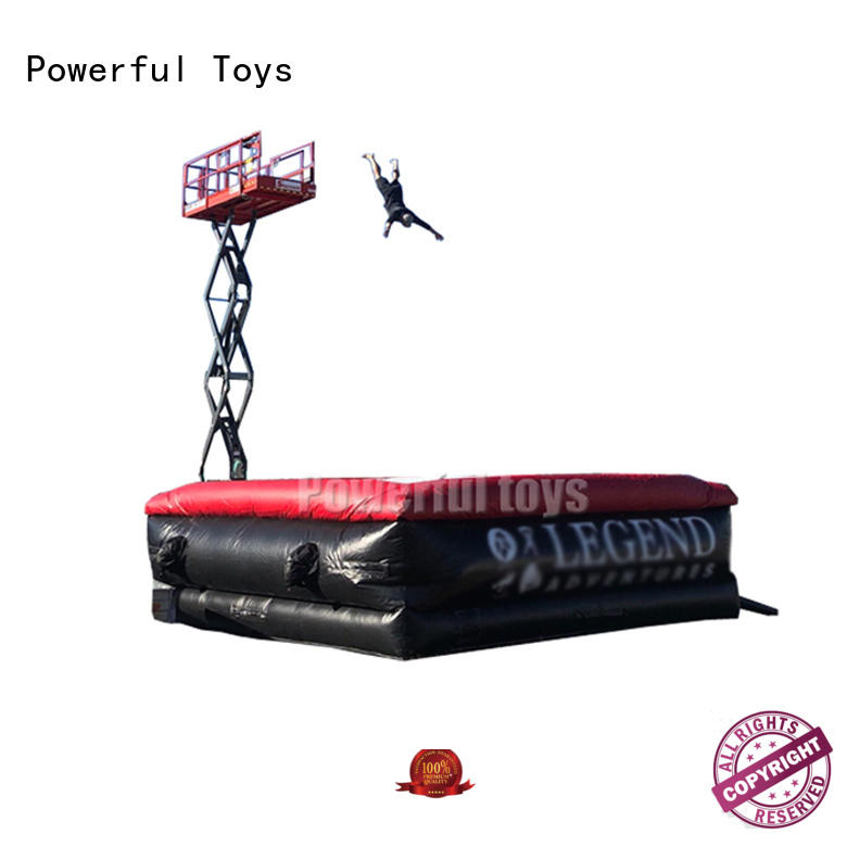 Powerful Toys inflatable airbag freestyle airbag for game